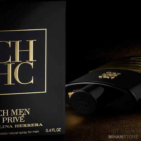 خرید پستی ادکلن مردانه کارولینا هررا Carolina Herrera مدل سی اچ پرایو CH Men Prive