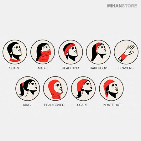 دستمال سر و گردن HeadWear ستوده