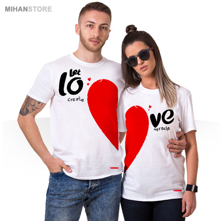 ست تی شرت پسرانه و دخترانه لاو Love