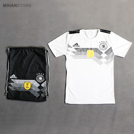 ست تی شرت و شوز بگ آدیداس Adidas آلمان T-Shirt & ShoeBag