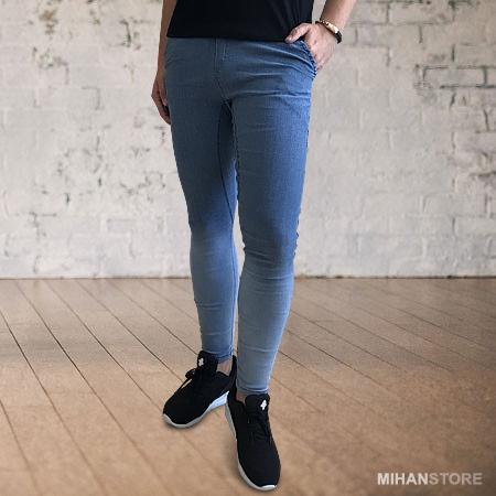 شلوار اسلش مردانه و پسرانه طرح جین Denim Sport Pants