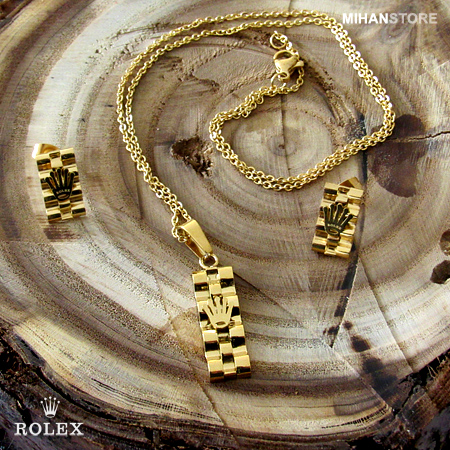 نیم ست رولکس Rolex Jewelry