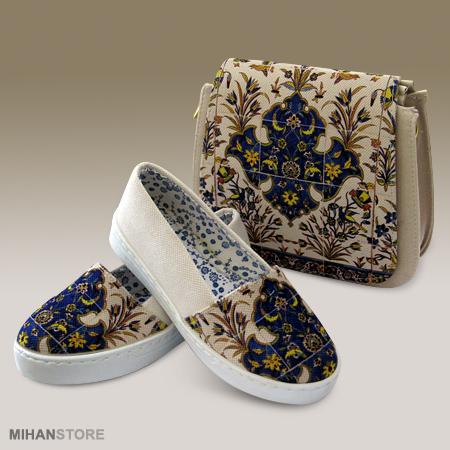خرید پستی ست کیف و کفش نگاره Negareh