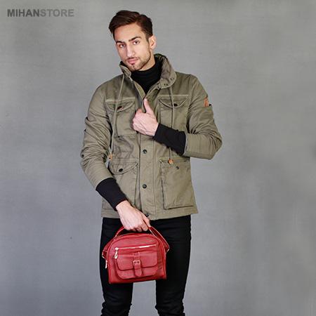 خرید پستی کیف دستی مردانه و پسرانه طرح پاسپورت Passport