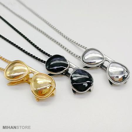 گردنبند لاکچری طرح عینک SunGlass Necklaces