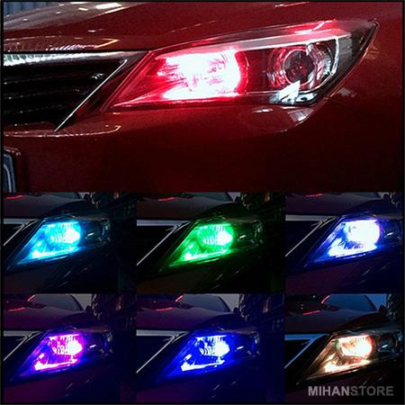 خرید پستی لامپ تزئینی خودرو مدل مولتی کالر Multi Color