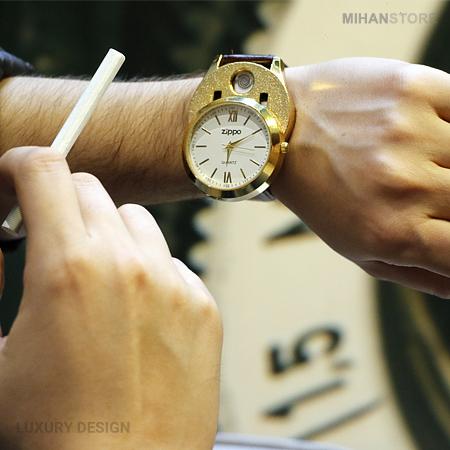 خرید ارزان ساعت مچی فندکدار زیپو Zippo Watches اصل