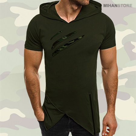 تی شرت لانگ هانتر مردانه مدل Long Hunter