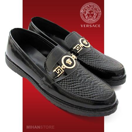 مرکز خرید کفش ورنی مردانه Versace