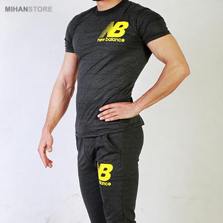 ست تی شرت و شلوار مردانه نیوبالانس New Balance