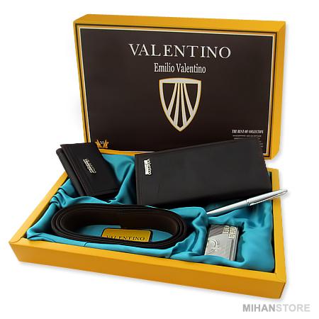 ست کیف کمربند و جاکلیدی ولنتینو Valentino