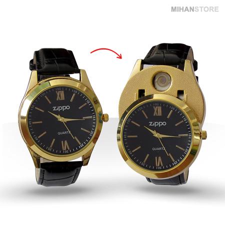 ساعت مچی فندکدار زیپو Zippo Watches