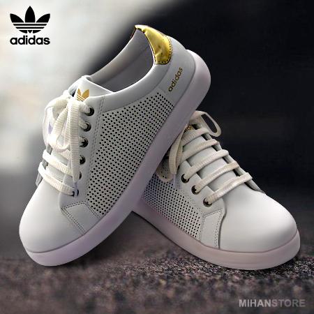 کفش دخترانه آدیداس مدل Stan Smith (سفید)
