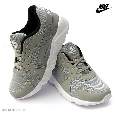 کفش دخترانه نایک Nike مدل هوراچی Huarache (خاکستری)