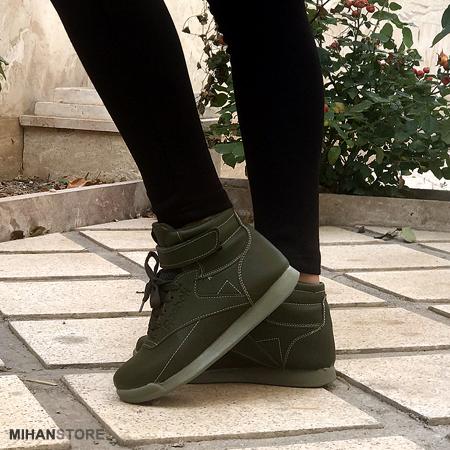 خرید ارزان کفش دخترانه و زنانه ساقدار ریبوک Reebok مدل گرین Green