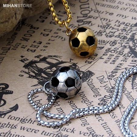 گردنبند لاکچری توپ فوتبال