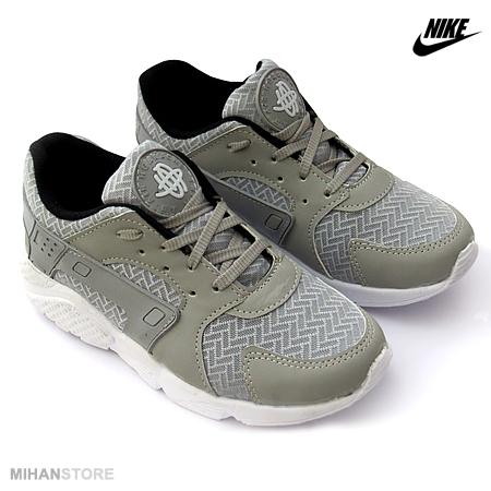 خرید پستی کفش دخترانه نایک Nike مدل هوراچی Huarache (خاکستری)