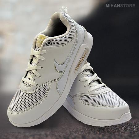 کفش سفید مردانه و پسرانه نایک Nike مدل ایر مکس AirMax