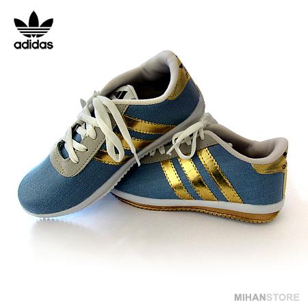 کفش دخترانه و زنانه آدیداس Adidas مدل دنیم Denim