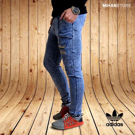 شلوار اسلش طرح جین آدیداس Adidas