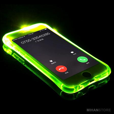 محافظ ژله ای نورانی آیفون iPhone اصل ایرانی