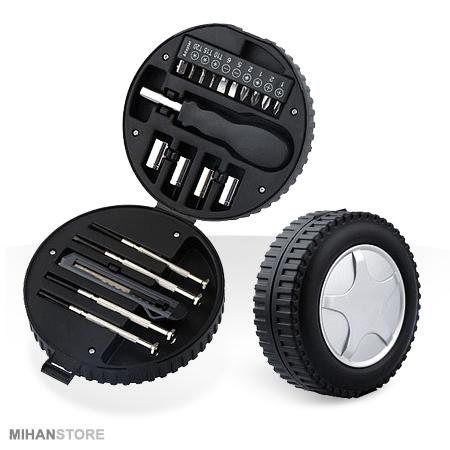 جعبه ابزار طرح تایر Tire Mini Tool Kit
