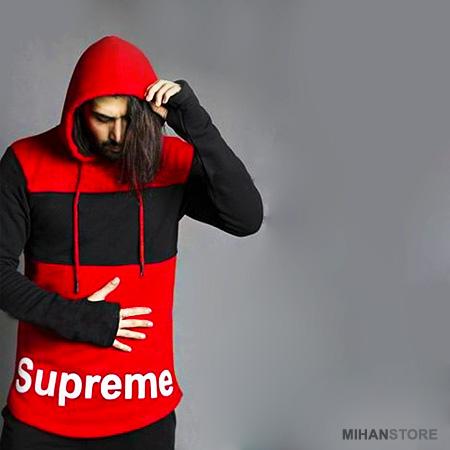 هودی کلاه دار مردانه سوپریم Supreme 2018