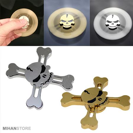 اسپینر حرفه ای مدل اسکلت Skull Spinners