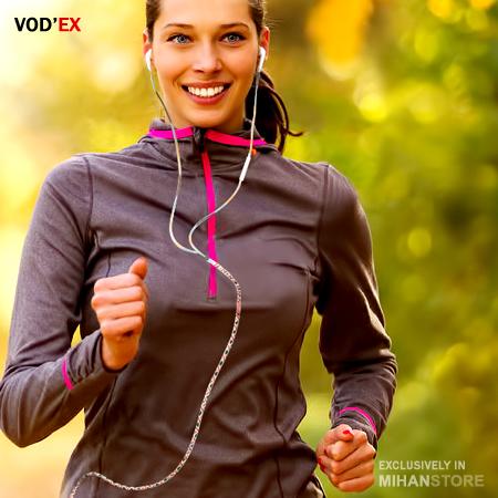 هندزفری لاکچری بافتنی Vodex Handsfree