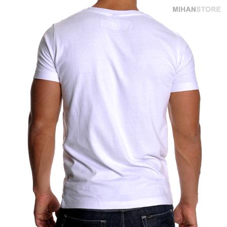 تی شرت مردانه طرح هدفون (سفید) Headphone Men White T-Shirts