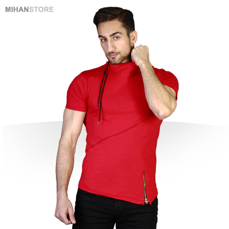 تی شرت یقه شل طرح Blata