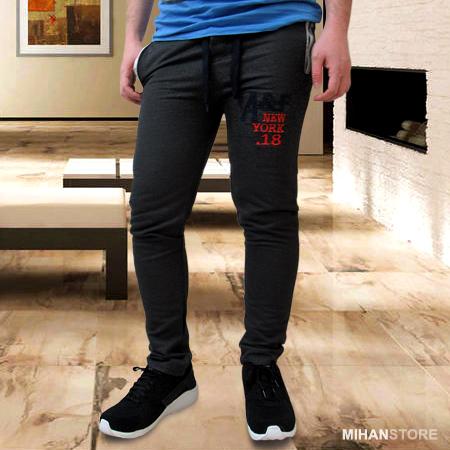 خرید پستی شلوار اسلش مردانه طرح Abercrombie & Fitch