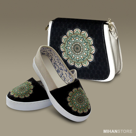 کیف و کفش ترنج با طرح و نقش زیبا