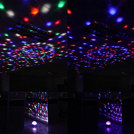 دستگاه رقص نور اسپیکردار مجیک بال ستوده Magic Ball