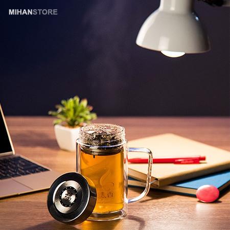 لیوان دمنوش دو جداره herbal drink Mug