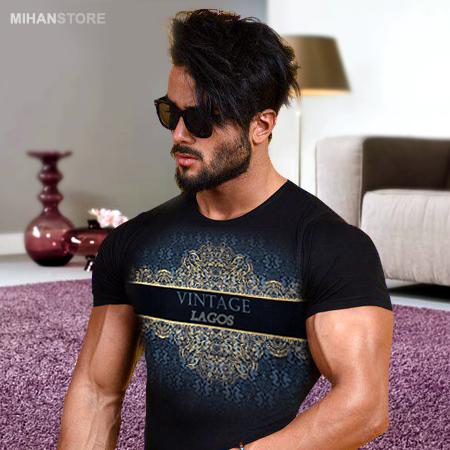 تی شرت مردانه طرح وینتگ Vintage