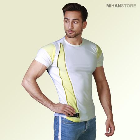 تی شرت مردانه و پسرانه طرح زیپ Zip با کیفیت عالی