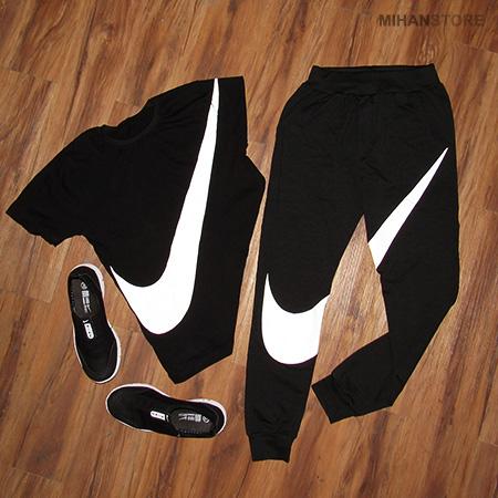 خرید پستی ست تی شرت و شلوار مردانه و کفش Nike
