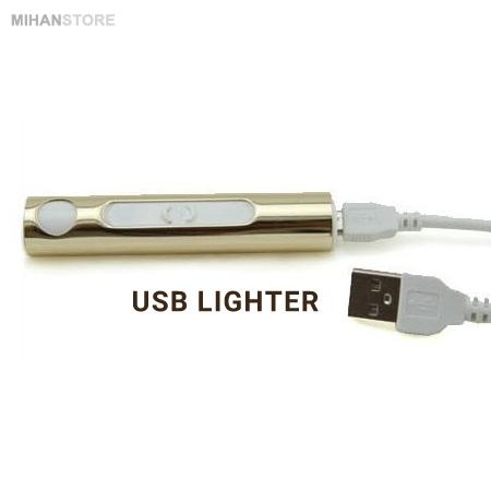 خرید پستی فندک USB طرح Eco Lighter