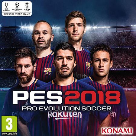 بازی اورجینال فوتبال Pro Evolution Soccer 2018