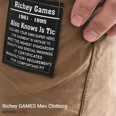 شلوار اسلش مردانه طرح Richey Games اصل