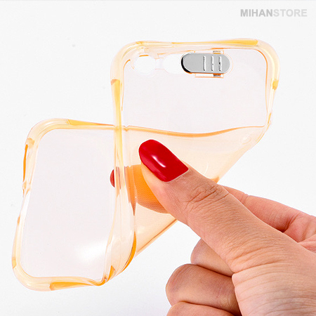 خرید پستی محافظ ژله ای نورانی آیفون iPhone