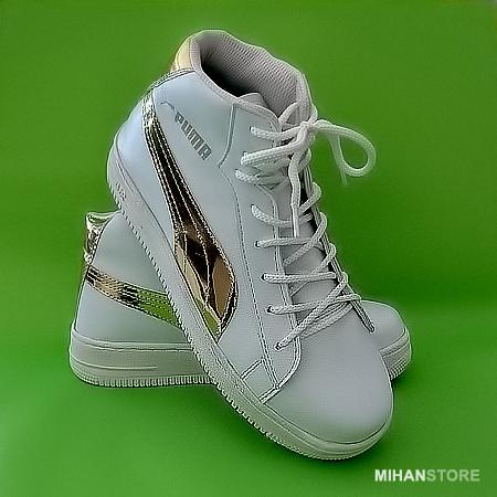 کفش زمستانه ساق دار دخترانه و زنانه پوما Puma مدل ریحانا Rihanna